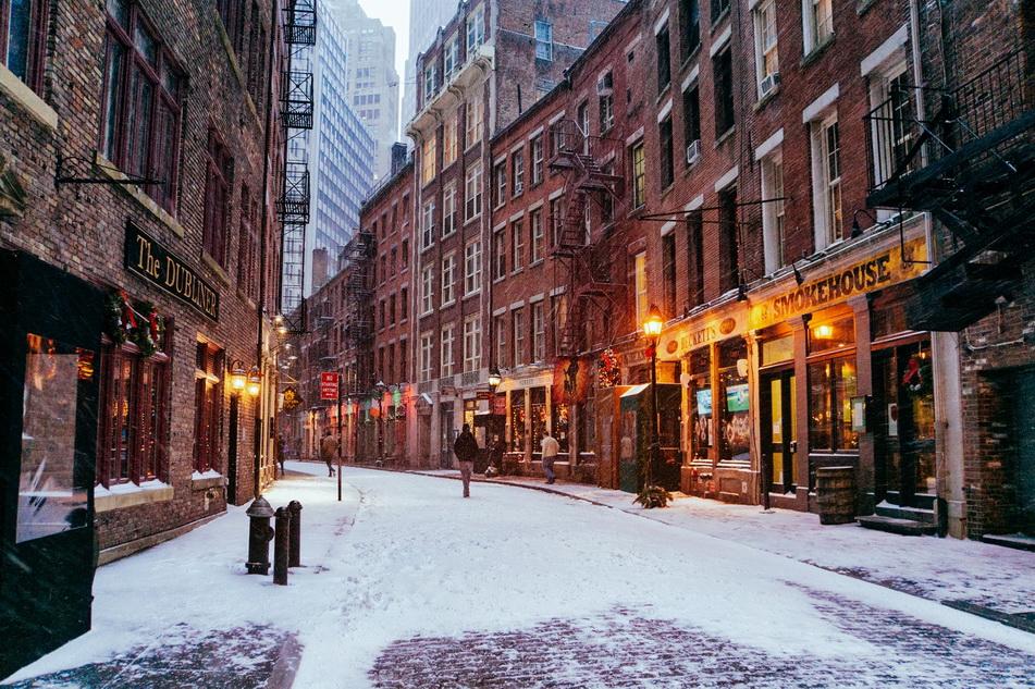Nueva York. Calle de Manhattan.