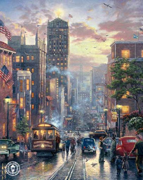 Thomas Kinkade. San Francisco.