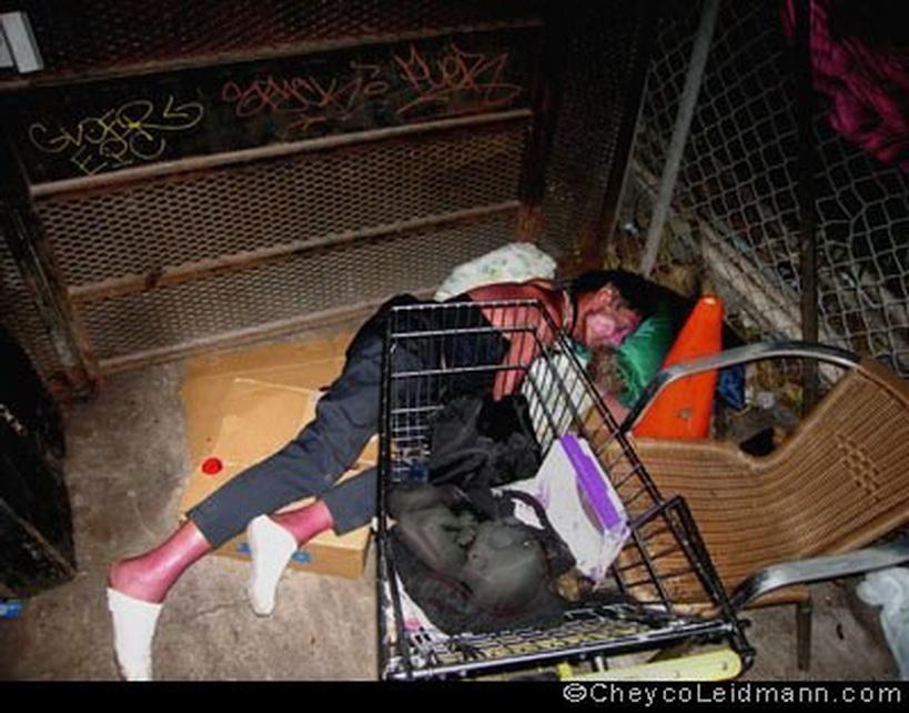 CHEYCO LEIDMANN, la miseria en el julo capitaliosta del derroche norteamericano. LA DROGA, MODO DE DOMESTICACIÓN.
