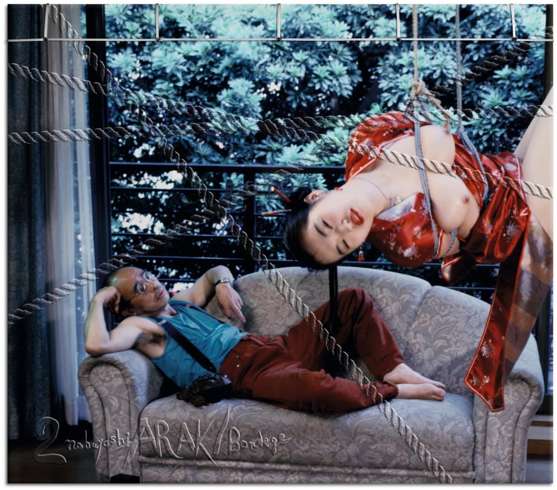 """Uno de los autorretratos de NOBUYOSHI ARAKI en uno de los libros contenidos en el regalo TASCHEN DE lIBRAS 1.000 PARA """"argentinos paquetes ex veraneantes de Punta del Este, ¡Ja!"""""""