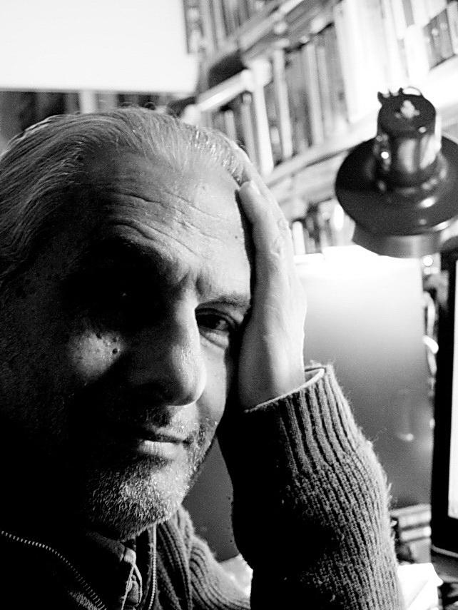 Autorretrato. Amílcar Moretti, set. 2015. Argentina
