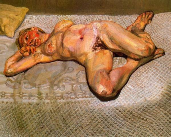 LUCIAN FREUD, uno de los pintores m as sobresalientes del último cuarto de siglo XX.