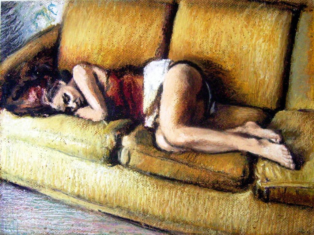 Claudia que duerme. De Lagia, nuevo realismo romano.