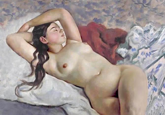 Zinaida Serebriakova- , Ucrania, 1884-1967