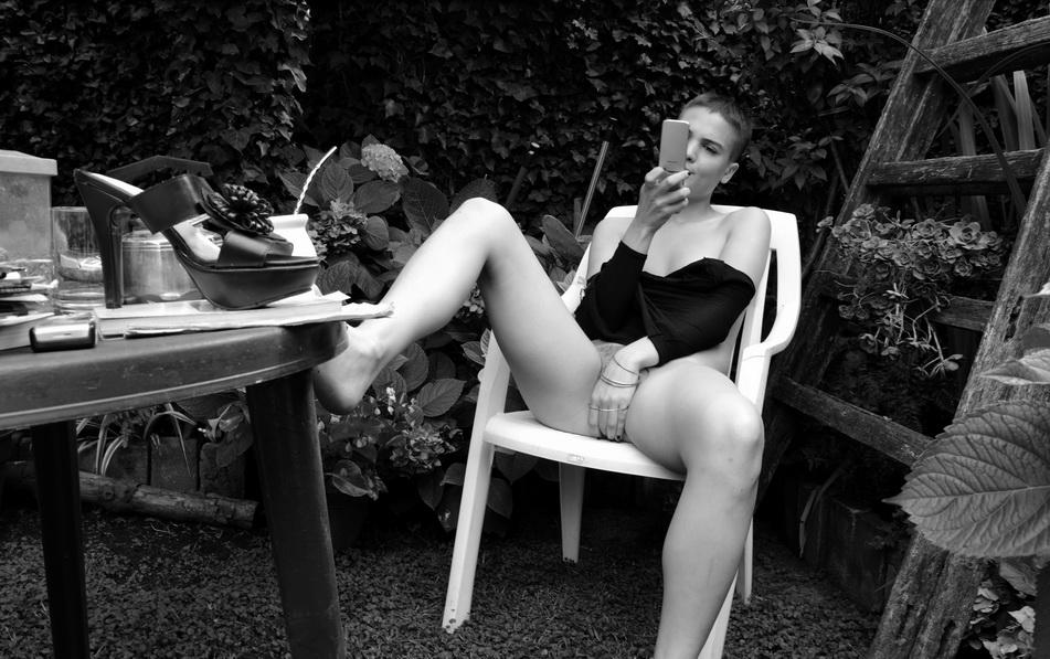 AMILCAR MORETTI. Modelo: Florencia Davidovich. La Plata. Argentina. Inédita, 8 de diciembre 2015.