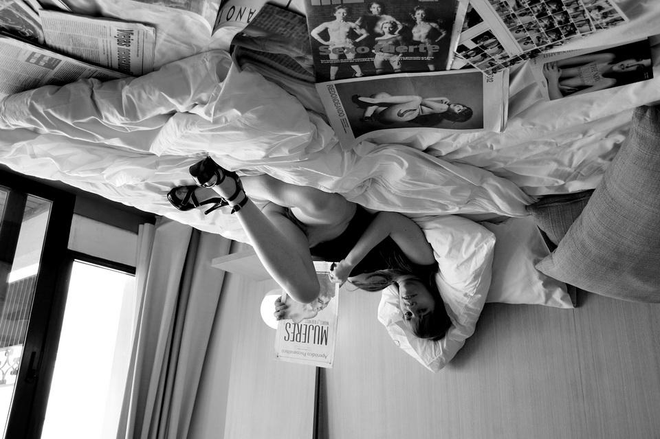 En Suites del babel Hotel de San Telmo. Buenos Aires. Barrio tradicional, en la colonia asentamiento de los africanos traídos coo esclavos, casi siempre sirvientes. Foto por AMÍLCAR MORETTI. Enero 2016, edición.