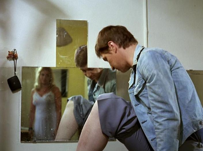 Fassbinder, Hannah Schygulla y los espejos.