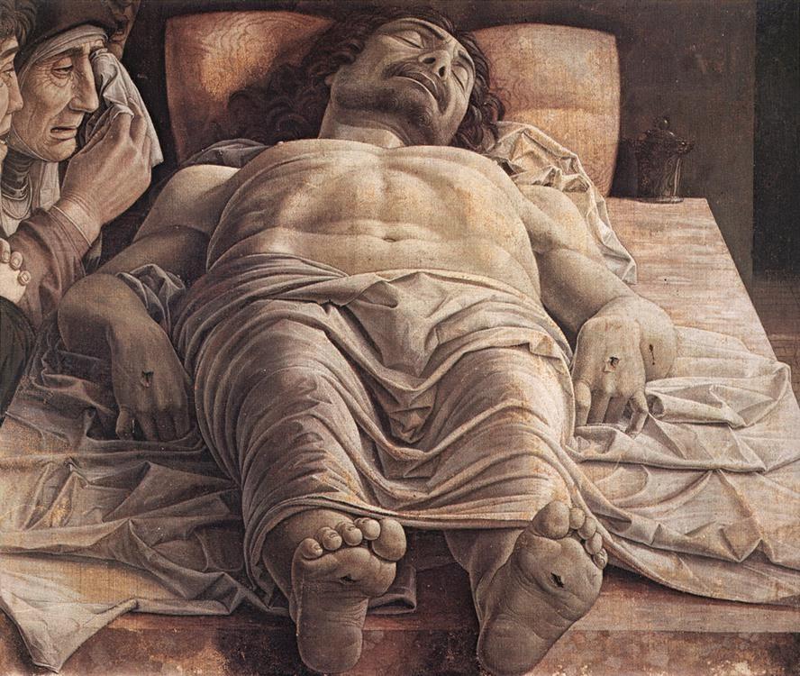 Andrea Mantegna (1431–1506) Lamentación sobre Cristo muerto. Entre 1475 y 1501.jpg