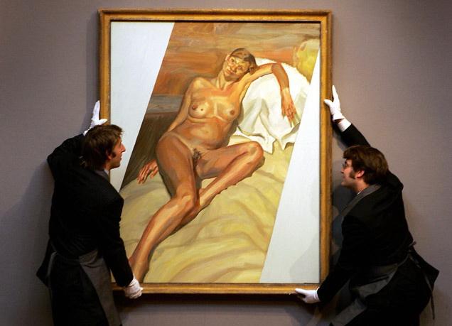 La pintura de Lucian Freud que, es probable, sea el único dato por el que se recuerde a Kate Moss dentro de 100 años.