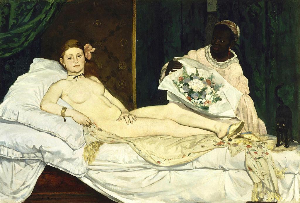 Edouard Manet (1832-1883) Olympia