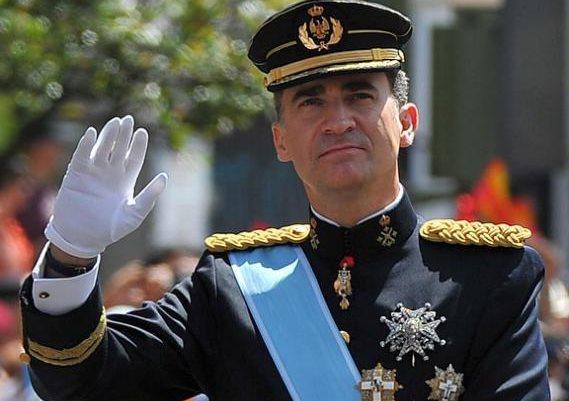 Rey Felife VI de España, el 12 de octubre del 2015, según publicación El Jueves.es
