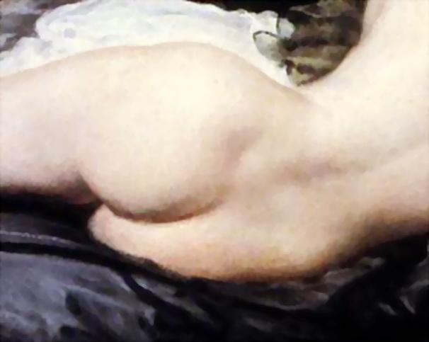 """La Venus del espejo"" de Velázquez (detalle, obviamente)"