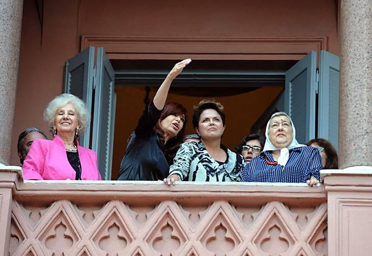 Hebe 2 , Dilma, Cristina y Carlotto. 201