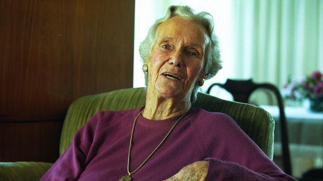 Jeannette Campbell, foto diario La Razon.