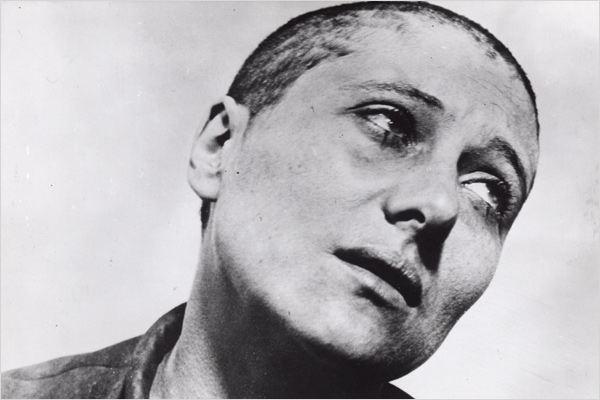 """René FALCONETTI EN """"JUANA DE ARCO"""", 1928, por el maestro del cine danés, DREYER."""