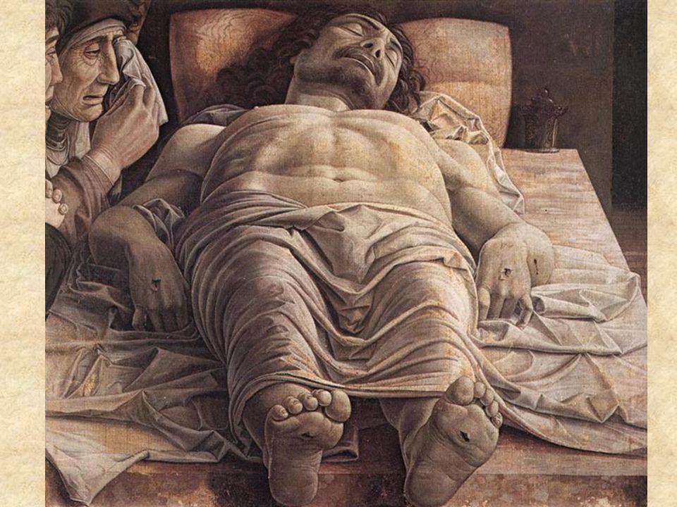 """ANDREA MANTEGNA. """"CRISTO MUERTO"""". 1474.Italia"""