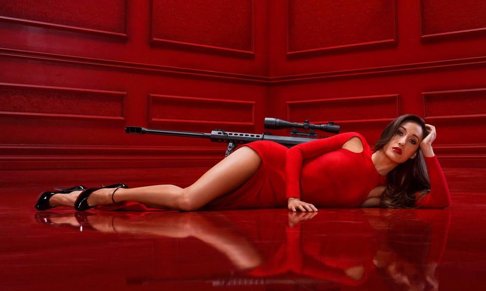 Francotirador en rojo (autor no reconocido)
