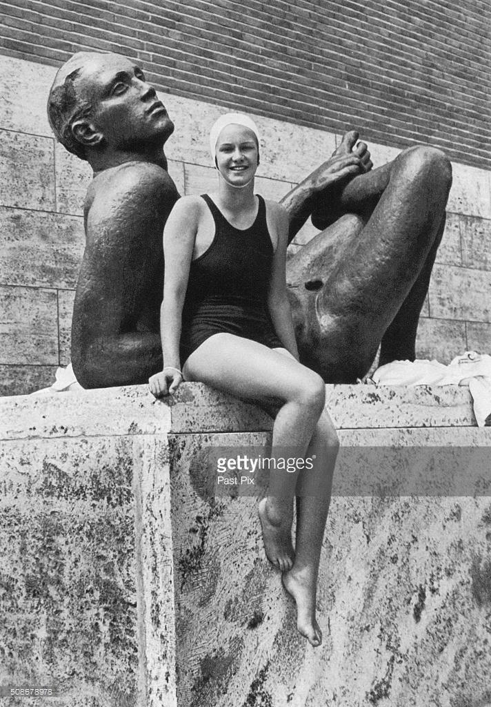 Jeannette Campbell, argentina, nadadora, medalla Olimpíadas Berlín 1936