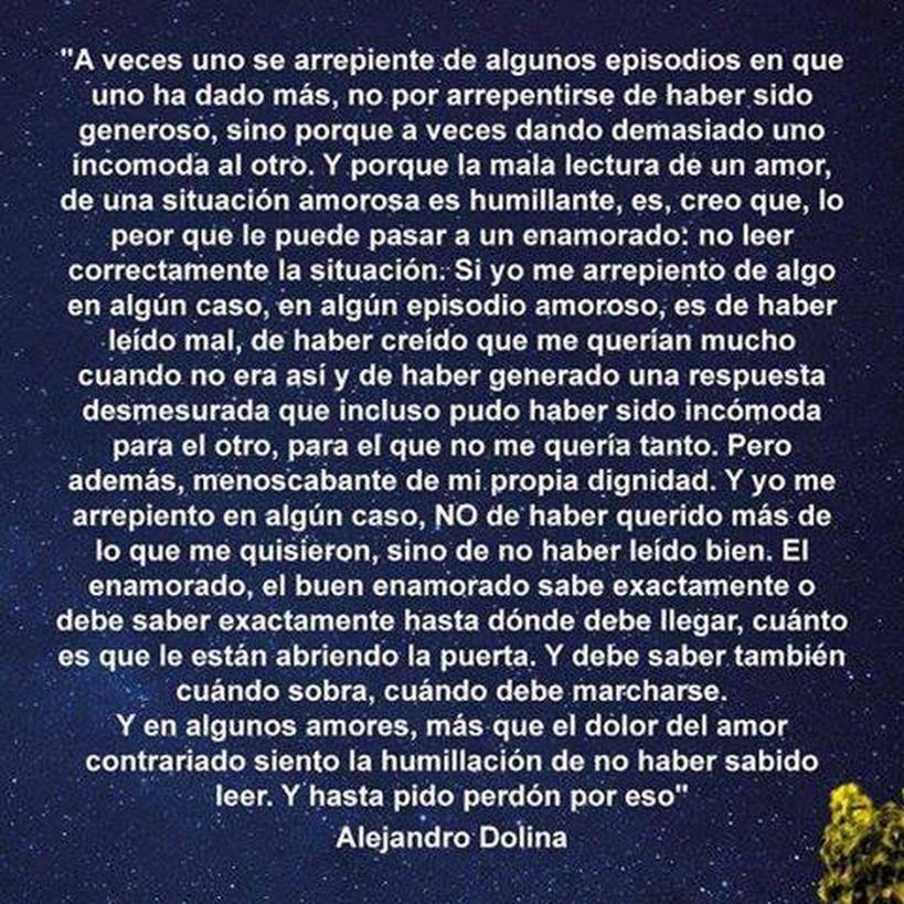 ALEJANDRO DOLINA (1949). Escritor argentino. De FACEBOOK, Página Librepensadores.