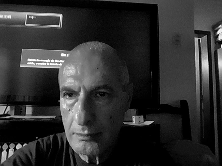 AMILCAR MORETTI. Autorretrato selfie. Abril 2017. Argentina.