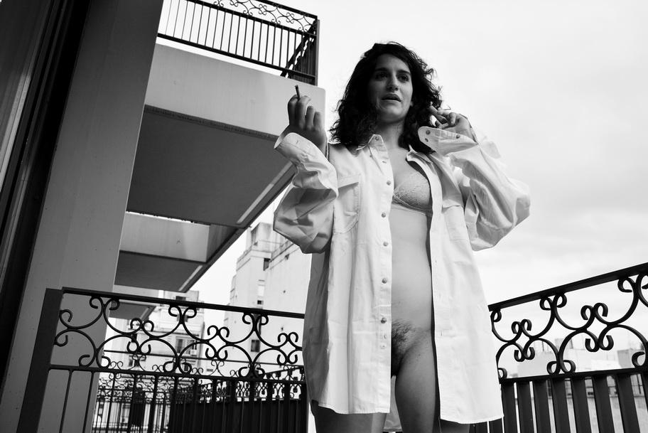 Foto por AMILCAR MORETTI  en suite de San Telmo, Buenos Aires, calle México y Tacuarí. Edición de este domingo 25 de junio del 2017.